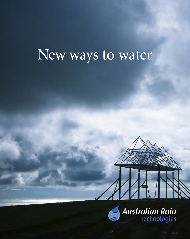 "Read ""New ways To Water"" Brochure"