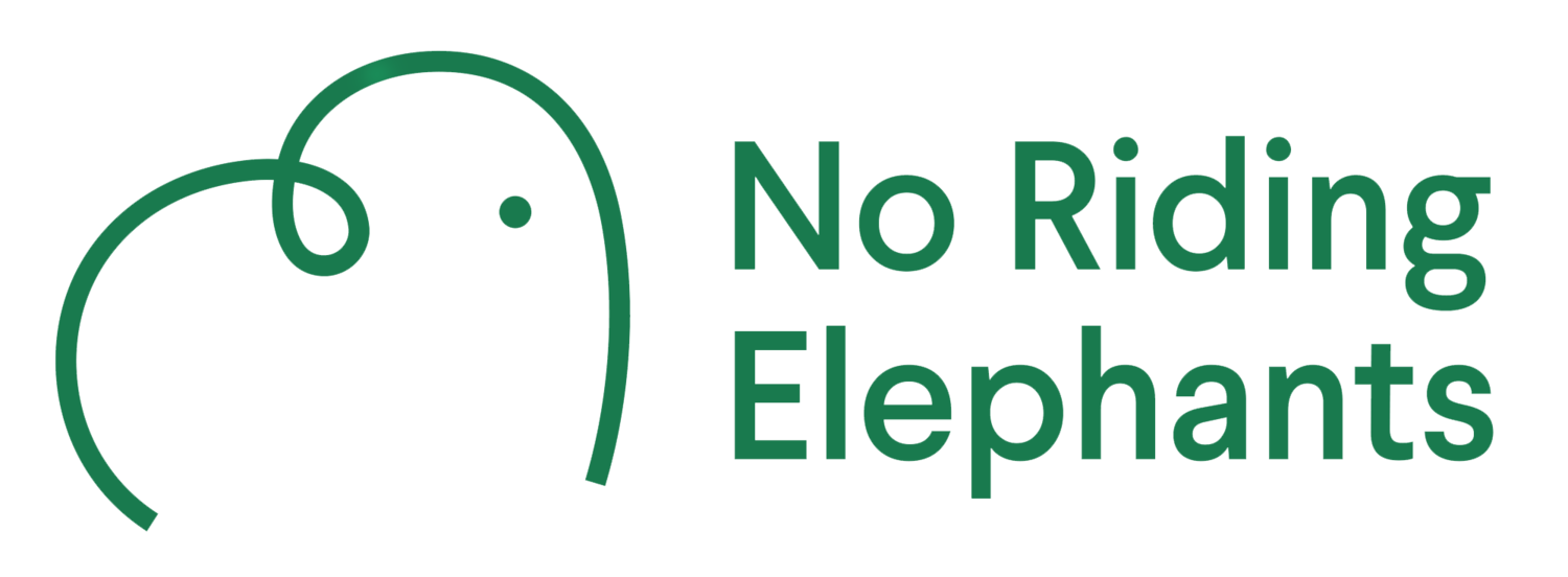 No Riding Elephants