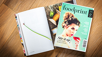 FOODPRINT 1516 - mjPublishing nv (Belgium/Netherland)Page 110,