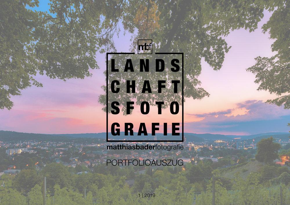 PORTFOLIOAUSZUG - Laden Sie Sich hier den aktuellen Portfolioauszug für die Landschaftsfotografie herunter.