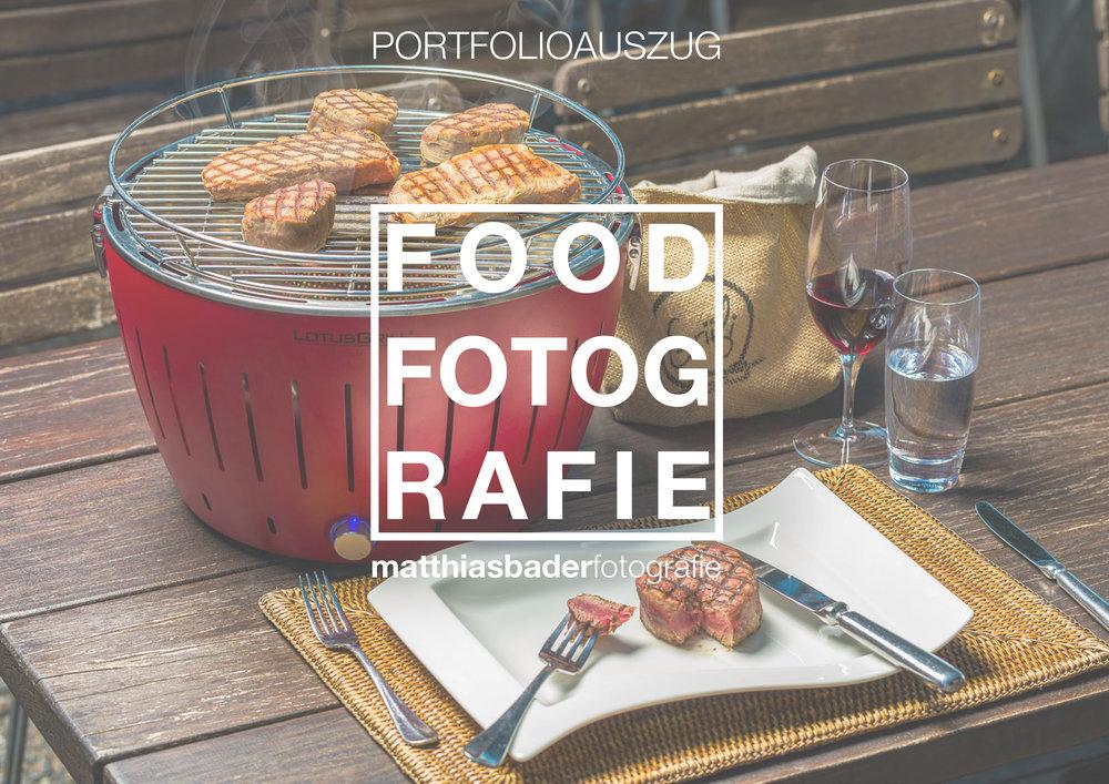 PORTFOLIOAUSZUG - Laden Sie Sich hier den aktuellen Portfolioauszug für die Foodfotografie herunter.
