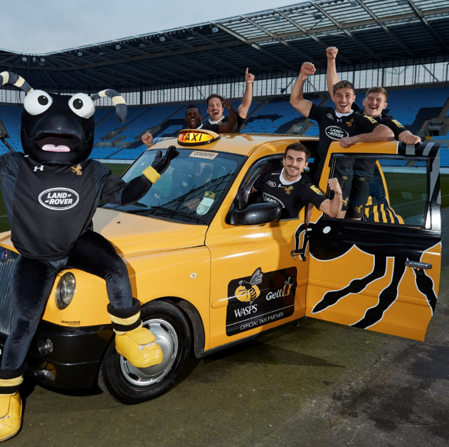 Gett Partnership with Wasps Rugby