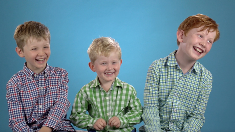 3 siblings films - Filming three siblings together can be funny, touching and sometimes chaotic!