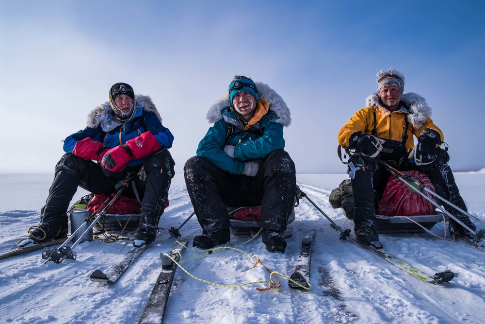 A trio of British endurance athletes has broken the speed record for an unsupported crossing of Siberia's frozen Lake Baikal, completing the 639 km journey in 12 days, 21 hours and 13 minutes.