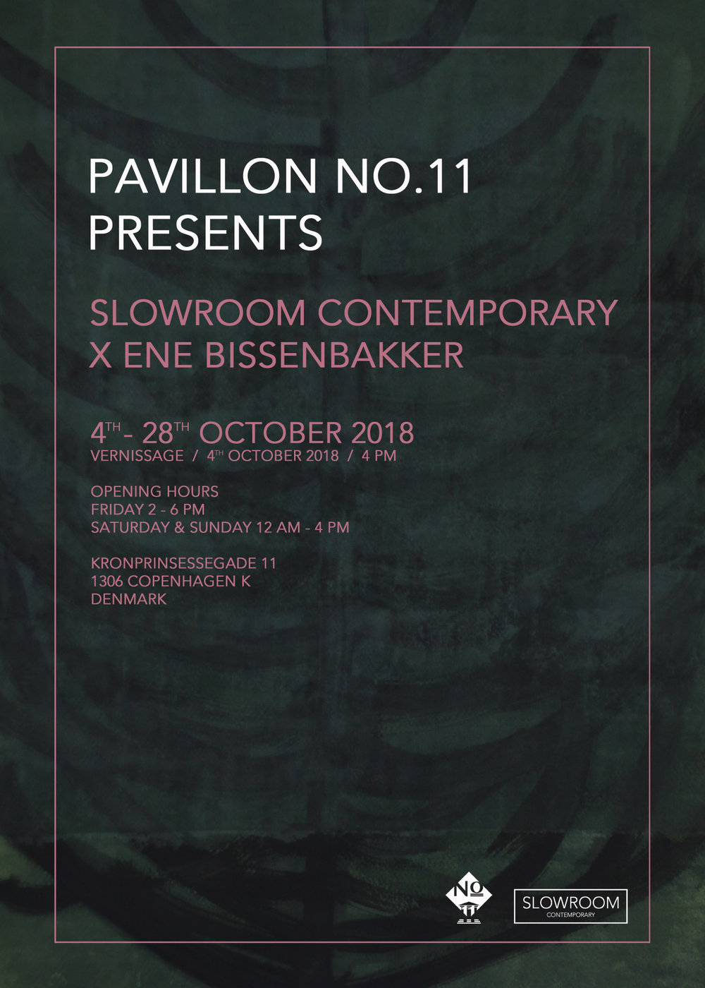 Ene bissenbakker / Solo exhibition - In collaboration with Pavillon No. 11, we proudly present a solo exhibition with Danish artist Ene Bissenbakker.For more information go to the Facebook event here.