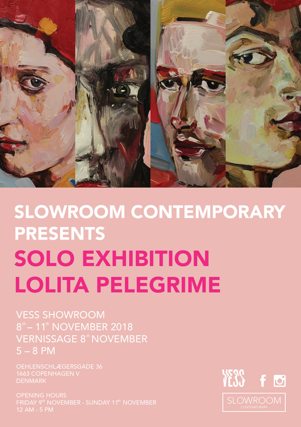 lolita pelegrime / solo exhibition - In collaboration with VESS Showroom we proudly present the debut solo exhibition with Lithuanian artist, Lolita Pelegrime.For more information go to the Facebook event here.
