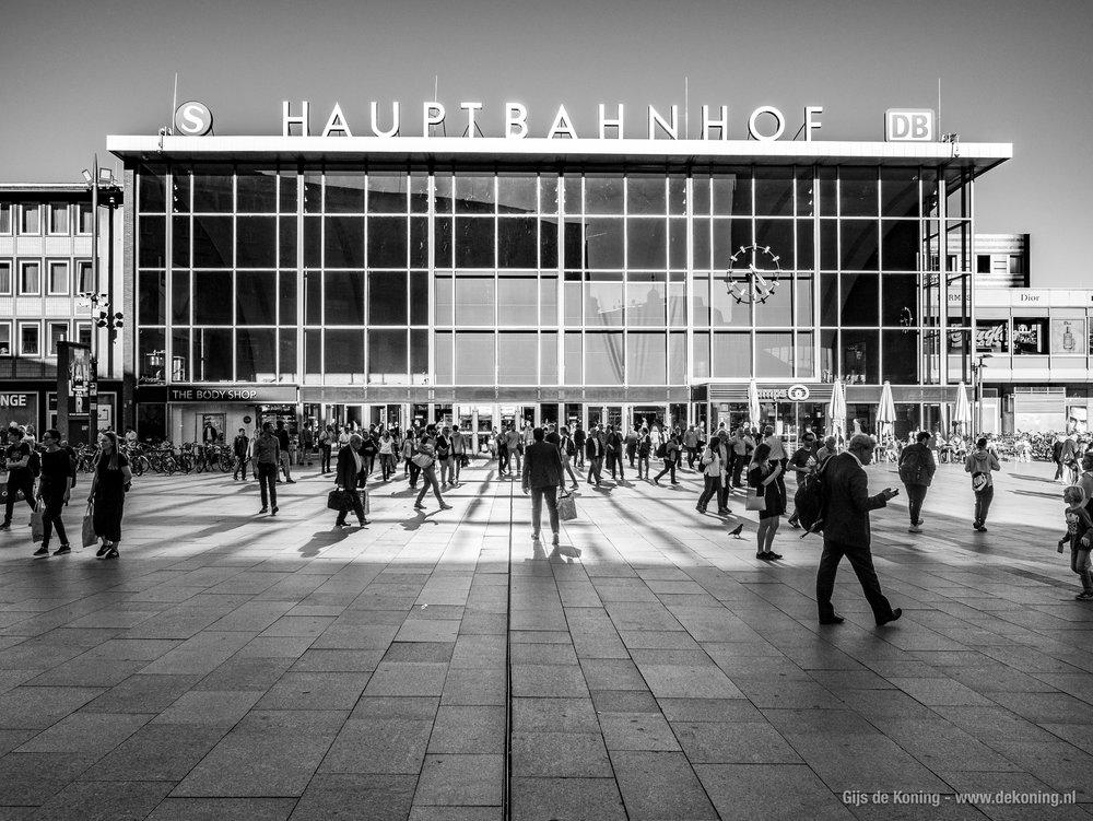 Köln Hauptbahnhof, het centraal station van Keulen