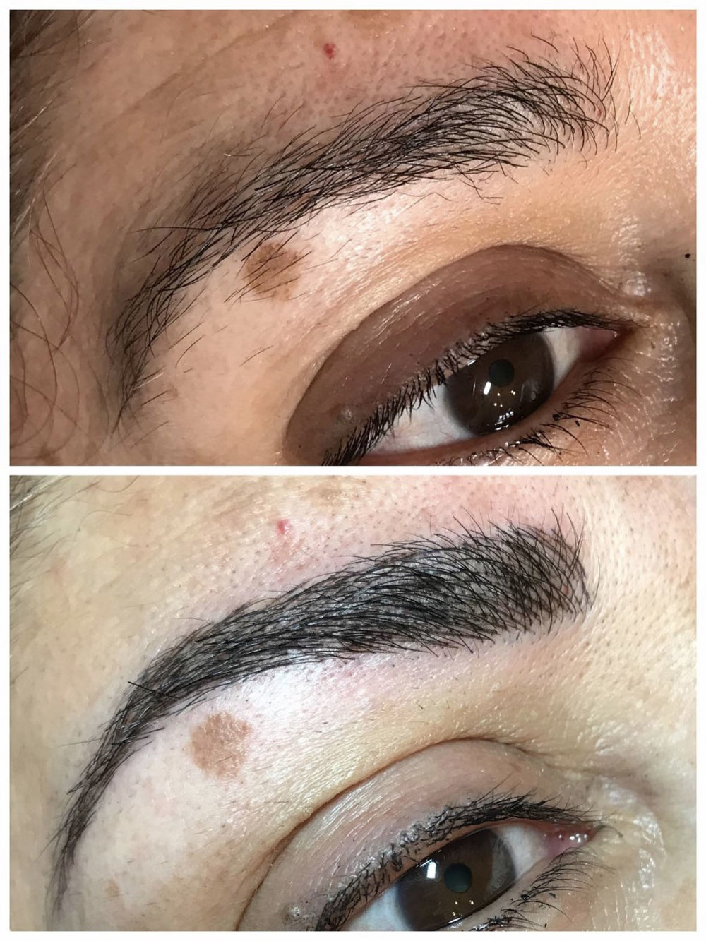 - Andriana does eyebrows beautifully and I love how natural mine look. I normally have to pencil in at my arches, but not anymore! She helped my brows look fuller and shaped better than ever before...thank you, Andriana!~Jenna