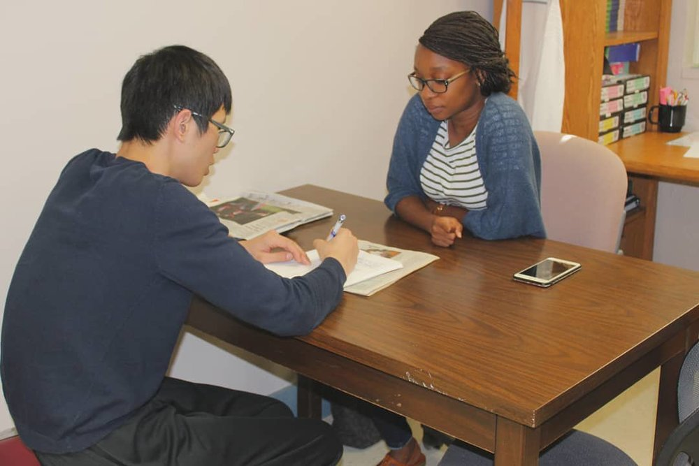 Free Tutoring - We provide one-on-one tutoring for adults who seek to improve their reading and math skills as well as English conversation skills for non-native speakers. All of our services are provided 100% free of charge. Please contact us today to enroll in our program.