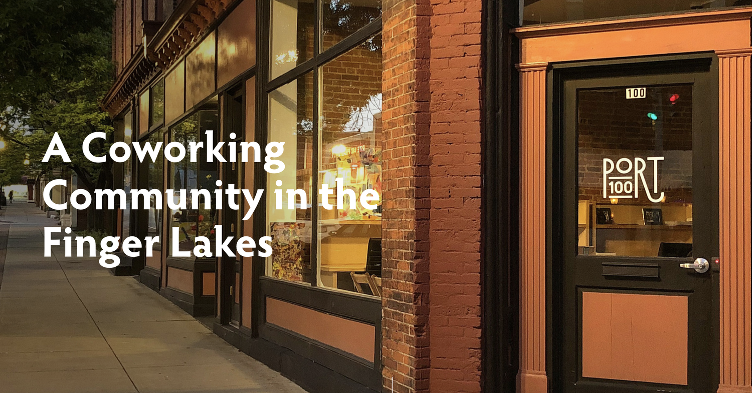 Sharing office space for remote workers is starting to trend in the Finger Lakes