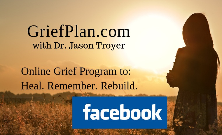 Visit the GriefPlan Facebook Page & Private Group -