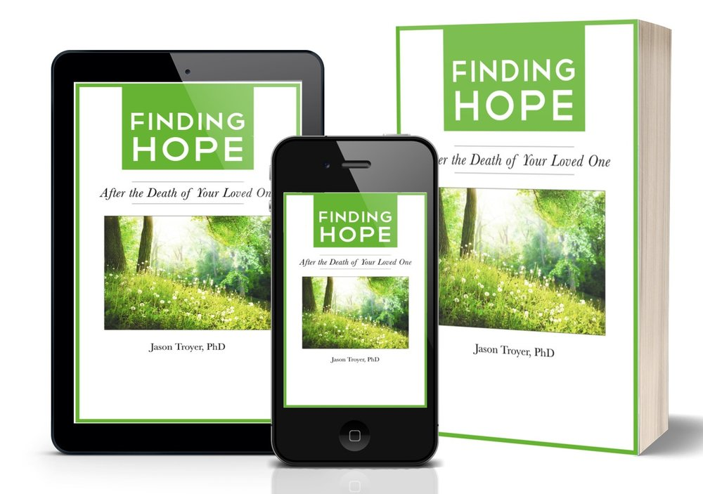 Want my free Finding Hope after Loss e-booklet? - Complete form