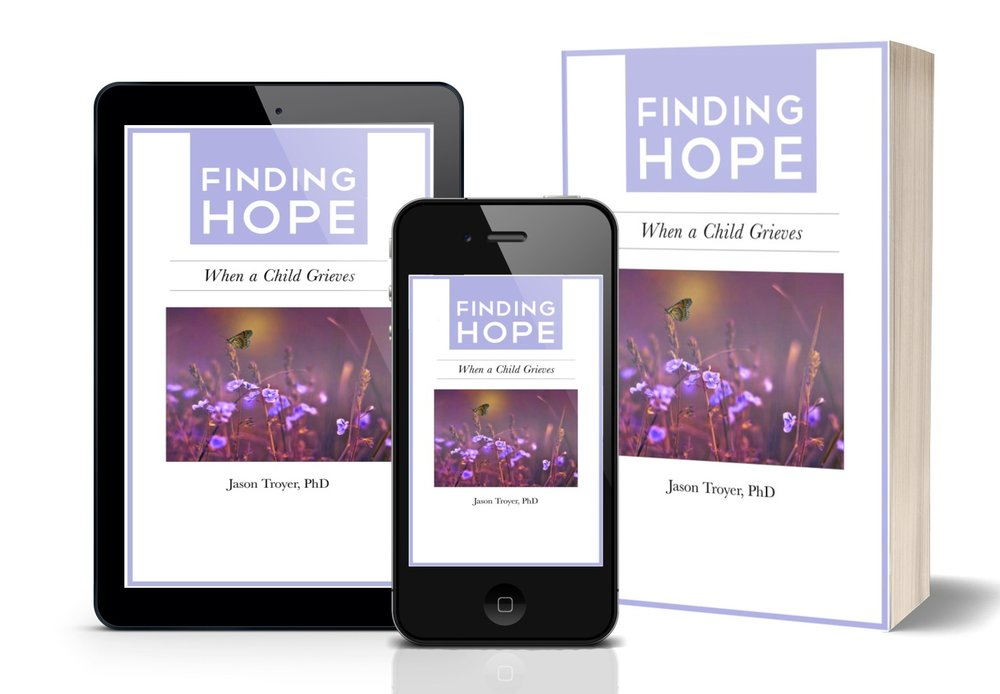 Want my free Helping Grieving Children & Teens e-booklet? - Complete the form below