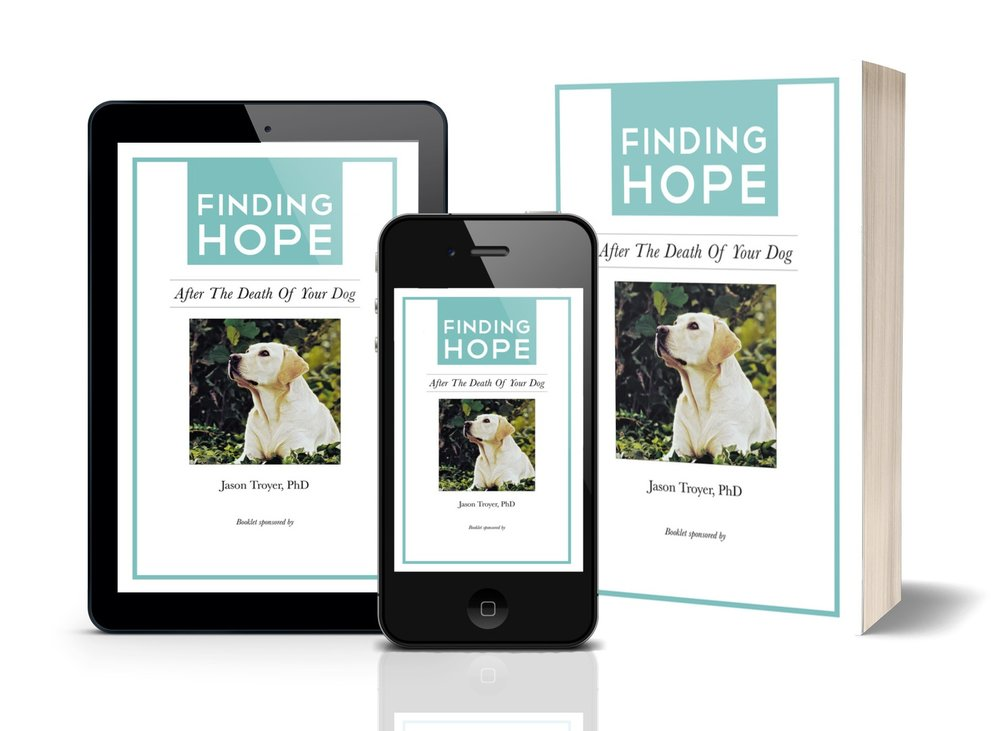 Want my free Loss of a Dog e-booklet - Complete the form below