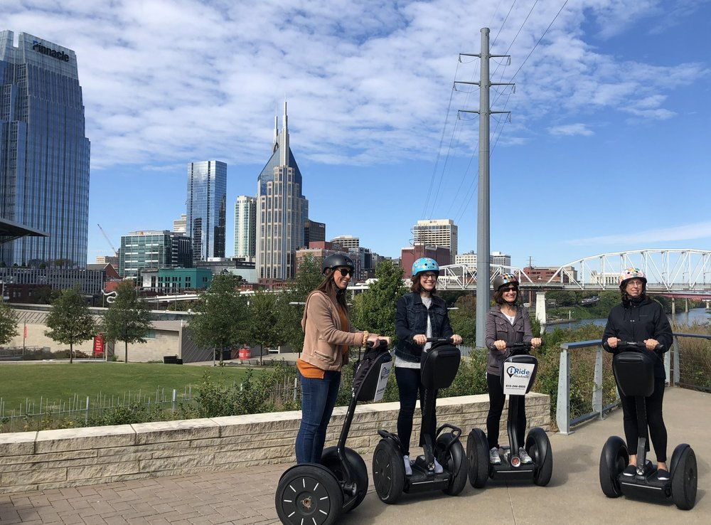 Tourism - In the tourism industry the Segway® Personal Transporter is primarily used for rentals or guided Segway PT city tours which in turn reach a high number of target groups.