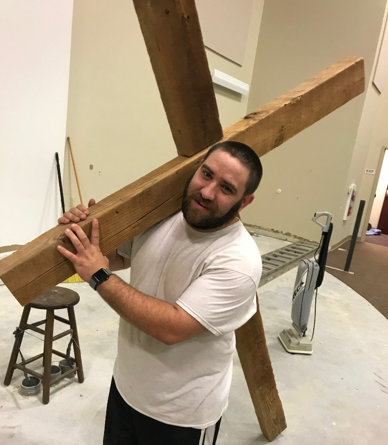 Take Up Your Cross - It's good to see that Wes Moyer takes Jesus' words to