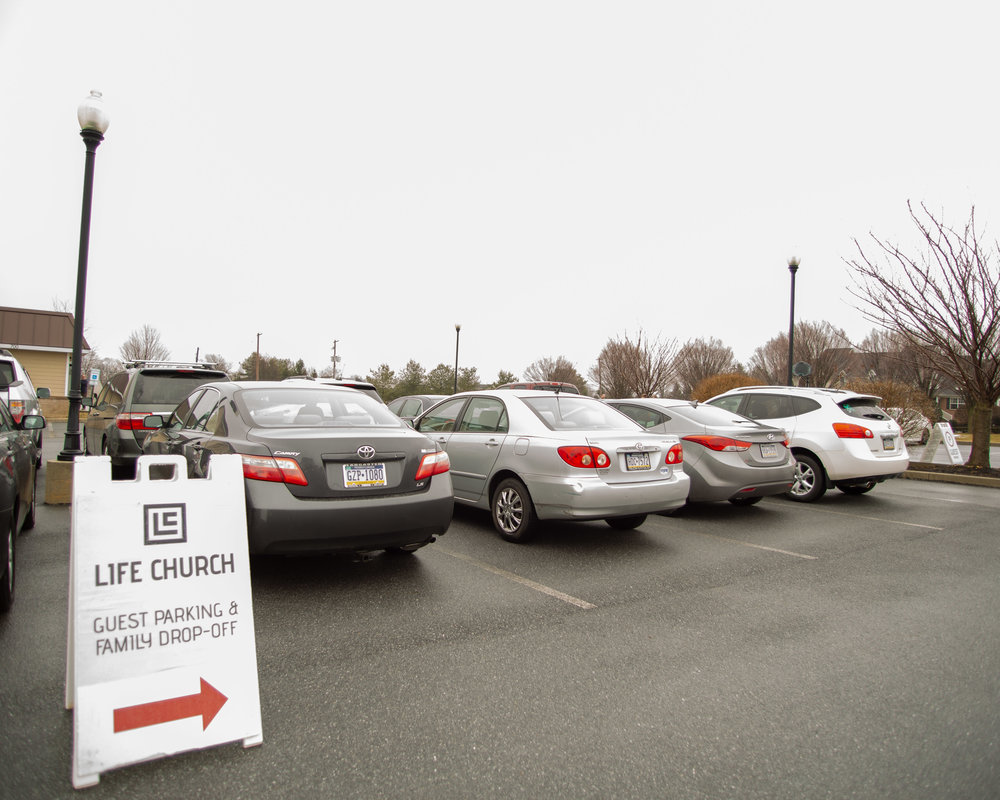 Guest Services: Parking Lot Greeter - Volunteer