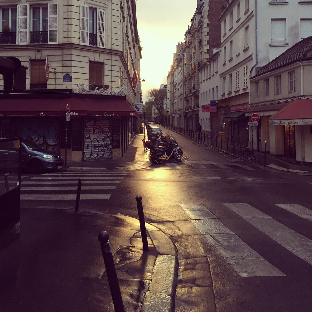 Paris, April 2018. Early morning.