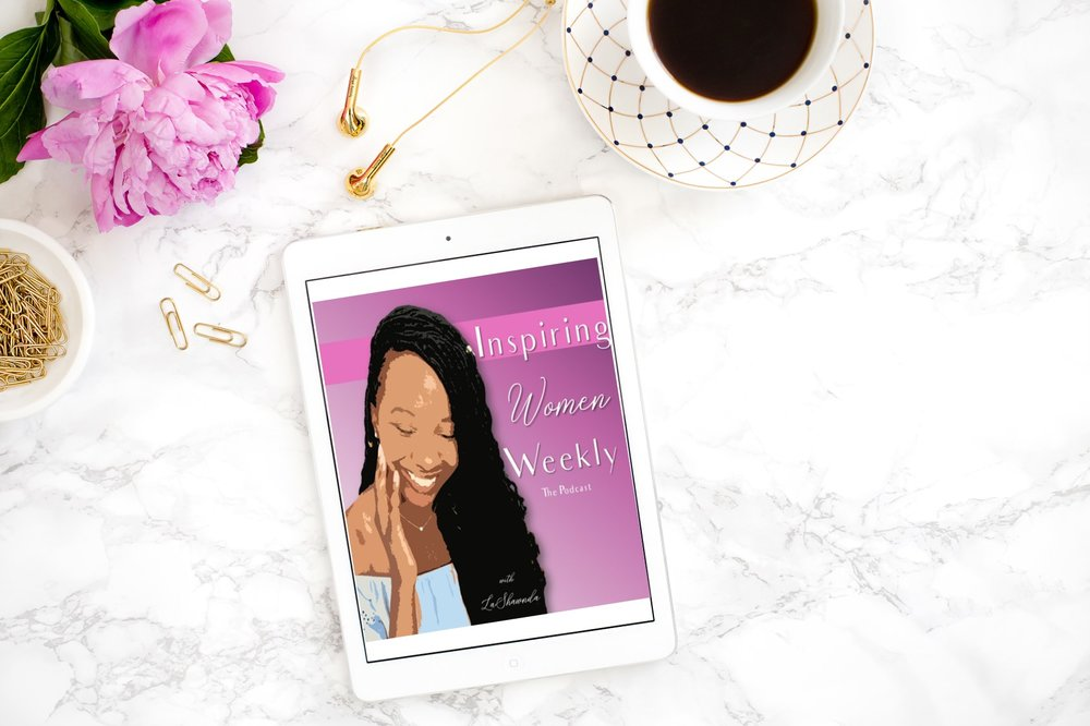 The Podcast - Inspiring Women Weekly provides weekly inspiration to encourage women to go further, push harder, and shine brighter!