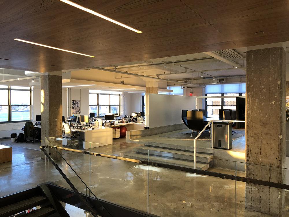 horizon media wavelength led retrofit office