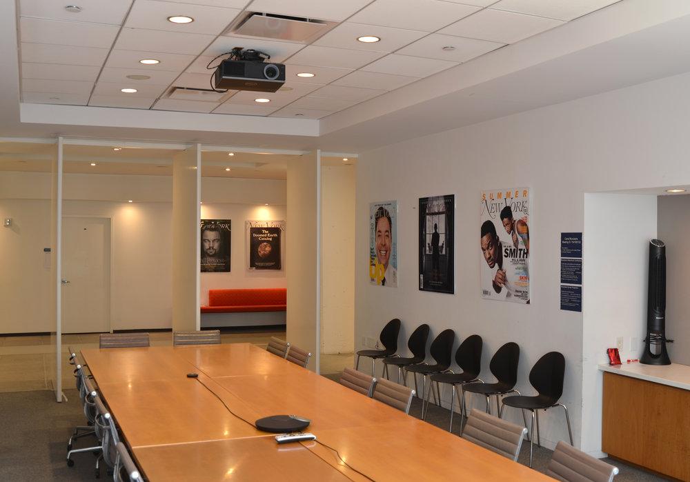 NY Media wavelength conference room led retrofit