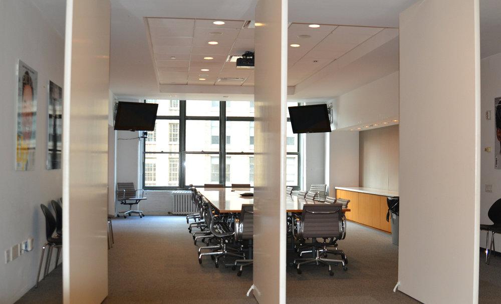 NYMag Wavelength led retrofit conference room