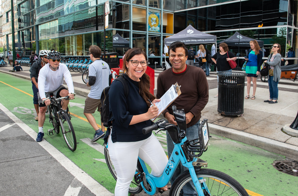 About - Active Transportation Now is a non-profit organization working in metropolitan Chicago to promote better biking, walking and transit.