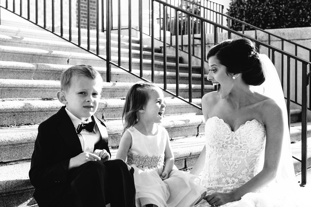Sometimes, the ring bearer just isn't feeling it. And that's okay.