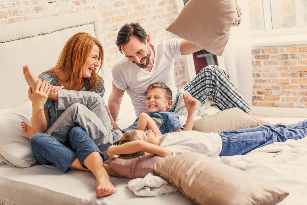 KISS THOSE MONDAY MORNING BLUES GOODBYE & start Enjoying your family! -