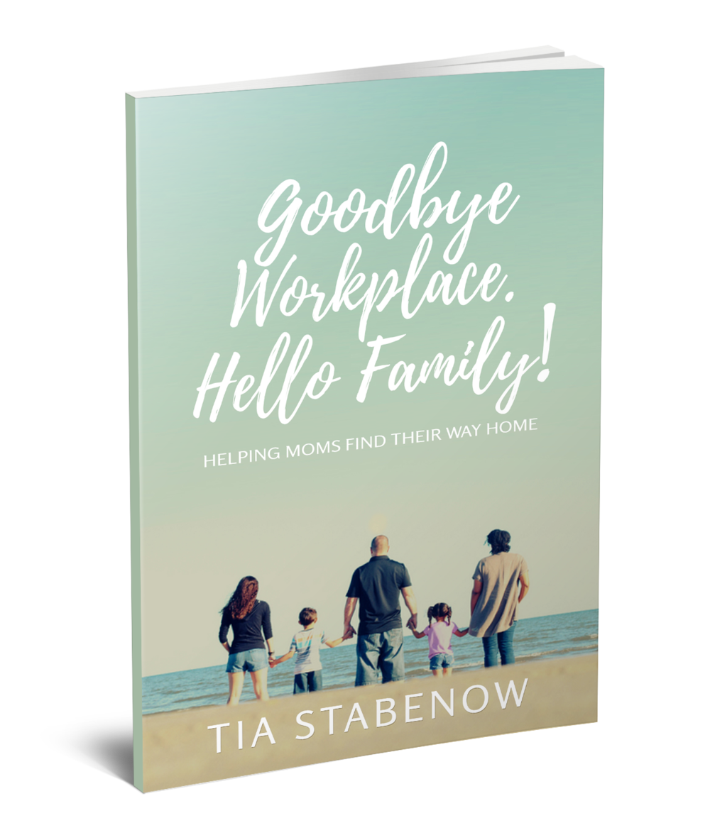 Autographed Copy of Goodbye Workplace. Hello Family: Helping Moms Find Their Way Home - Instructions to claim: None, your signed book copy will be mailed to the address you provided in the warm-up section of the program. For special instructions, please contact tia@goodbyeworkplace.com