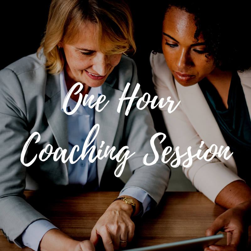1-Hour Coaching Session after the program to ensure your successful transition - Schedule your free session by getting a date on my calendar by clicking here. You will have 30 days after the program end date to schedule your session. If your session is not scheduled by that date your session will be forfeited.