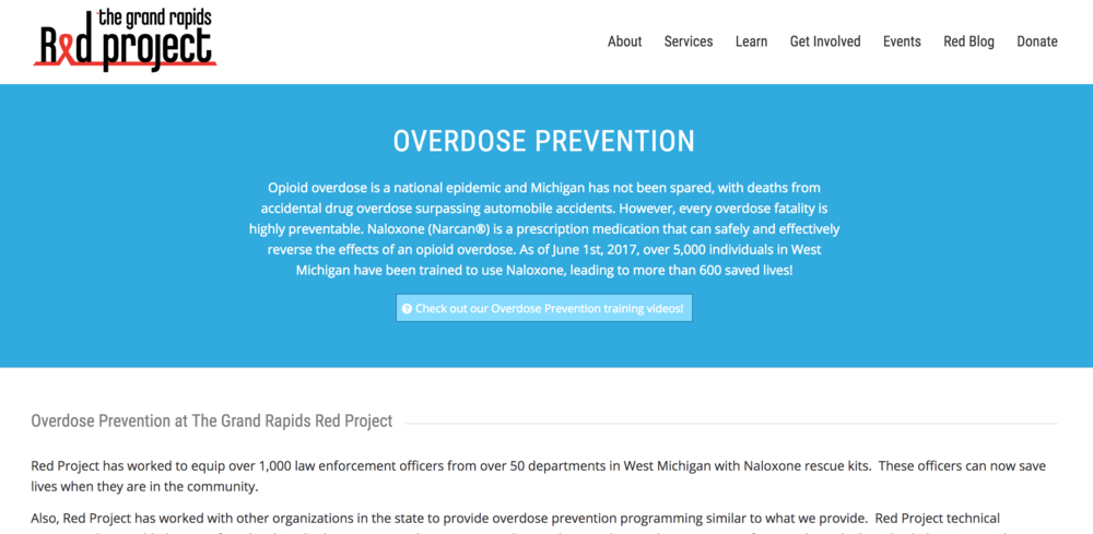 Click on the photo or visit  http://redproject.org/services/overdose-prevention/