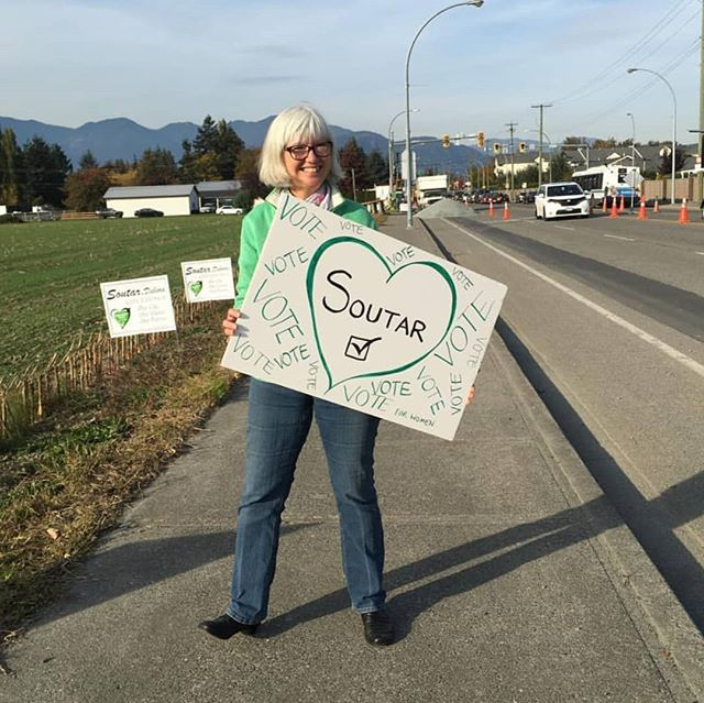 Vote Debora Soutar on October 20th!! 💚☑️ #chilliwackvotes