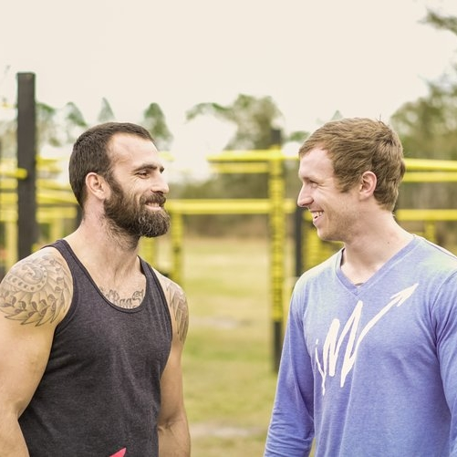 2013 - Zach met Rich Royster, who was about to start his graduate studies at the University of Florida as a student pharmacist, and they began to workout and develop a binding friendship over the next 6 months!