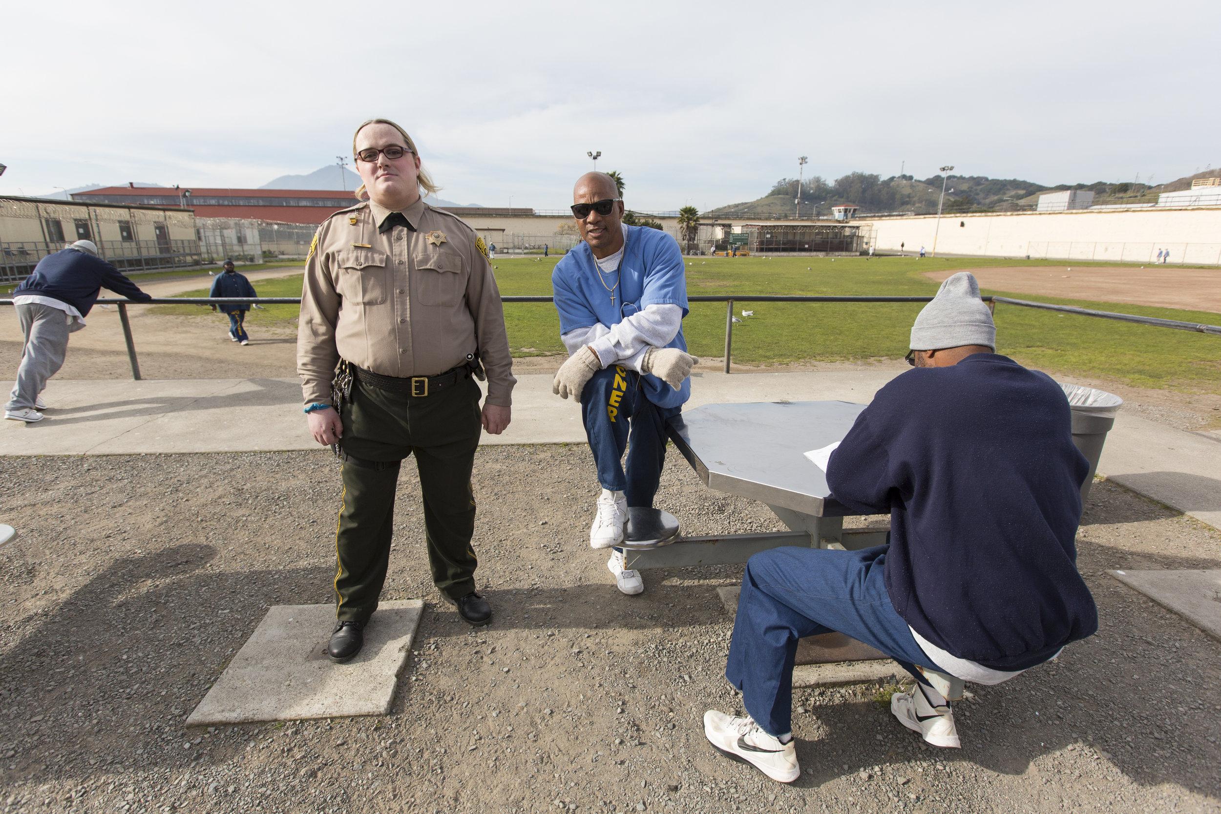 Mandi in San Quentin