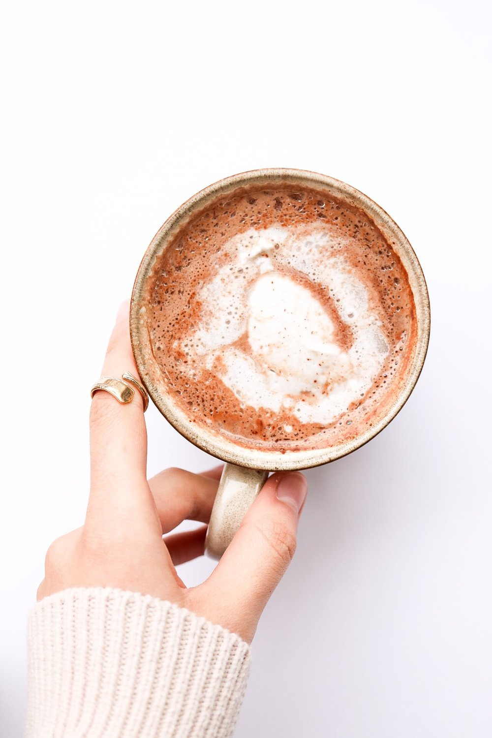 Hot Chocolate - INGREDIENTS:1.5 cups plant milk2 squares Alter Eco chocolate2 Tbsp cacao powder3 Tbsp maple syrupINSTRUCTIONS:Add all of the ingredients into a saucepan, and allow it to come to a simmer - cook until the chocolate has melted and everything is combine.