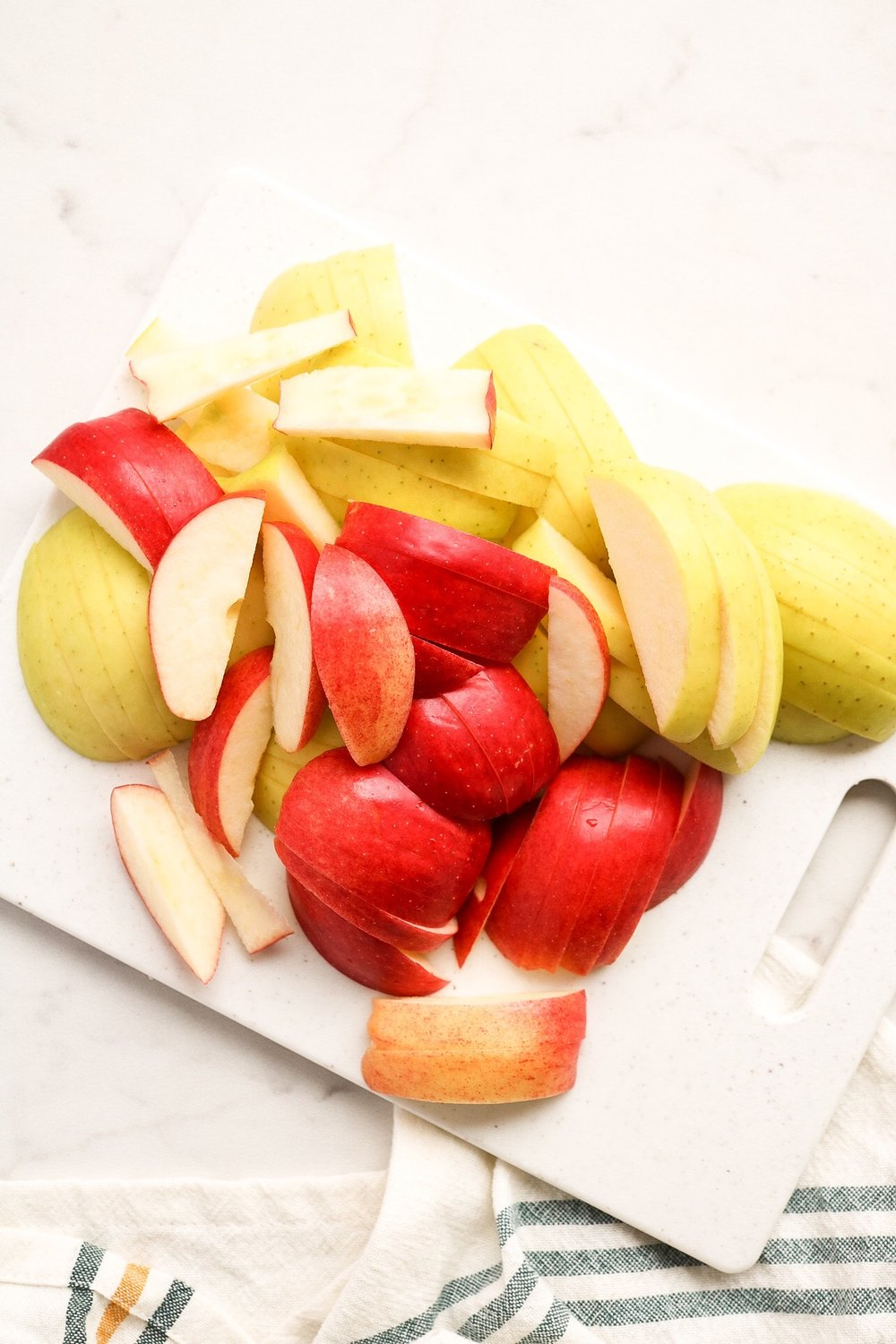 Slice up your apples for the filling.