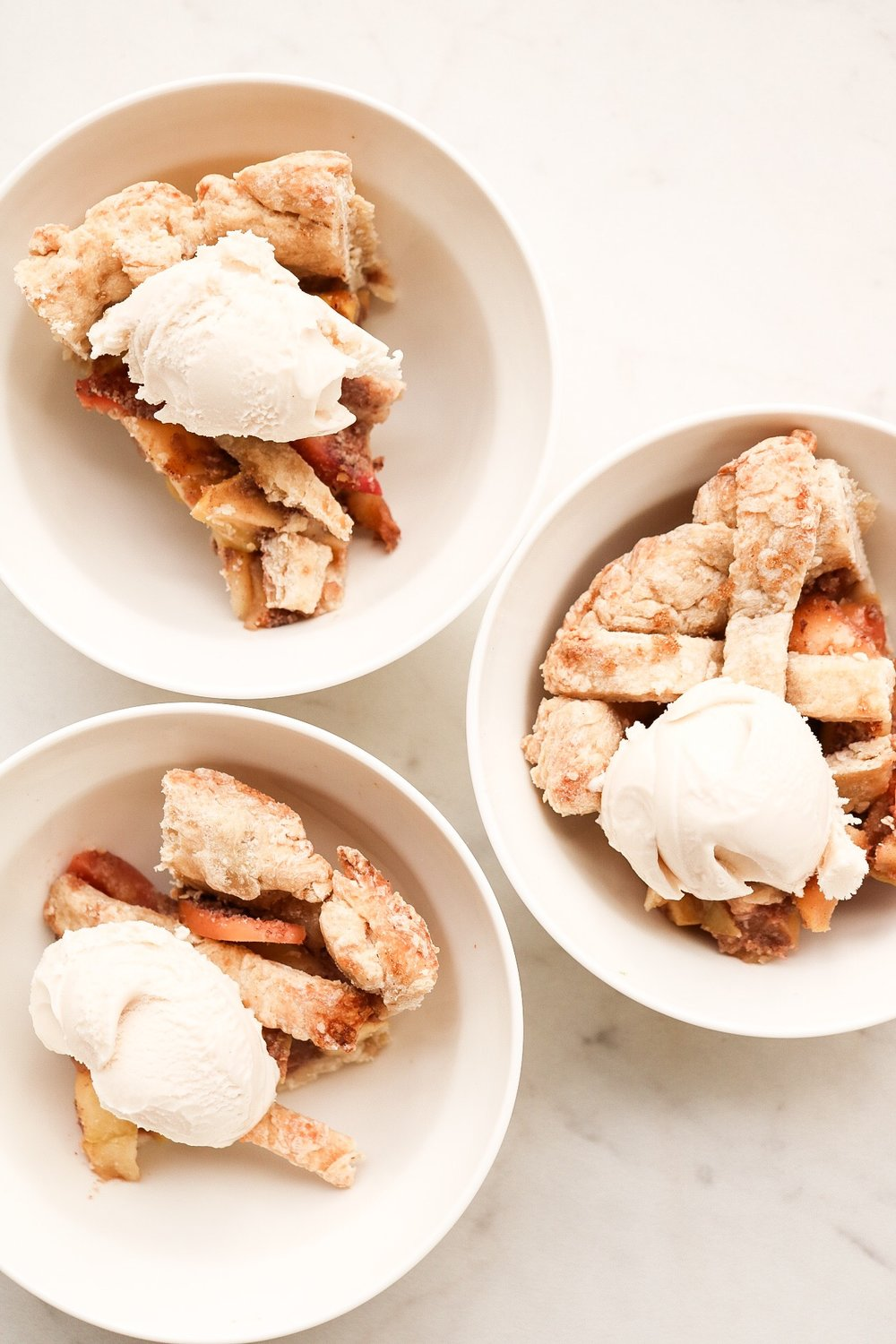 Golden and buttery, it's best served with a big scoop of vanilla ice cream - promise!