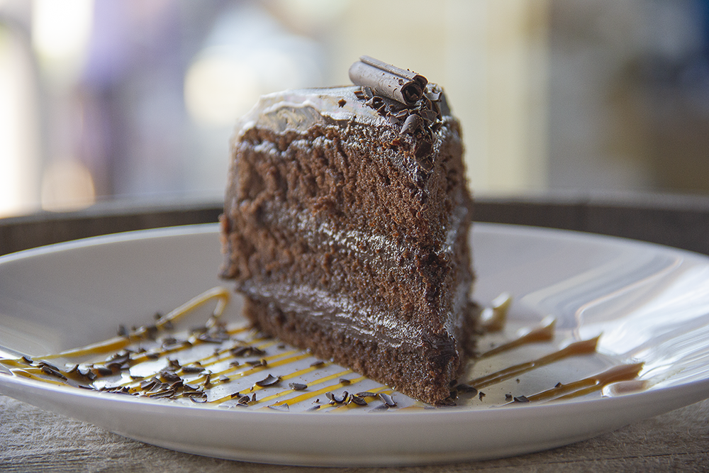 rich chocolate cake - The ''Christine''