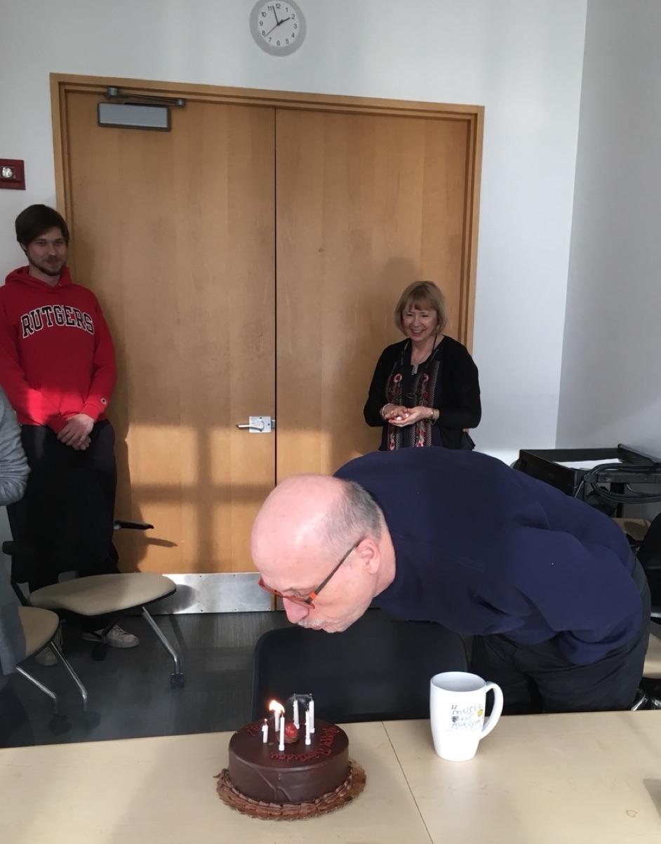 Happy Birthday, Miklos!