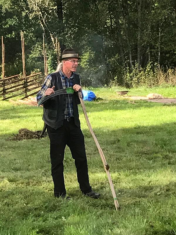 Mats Rosengren pratar om lieslåtter