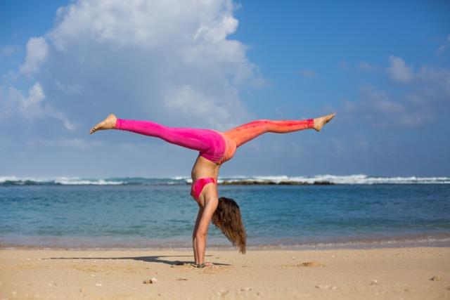 Valerie Brett Yoga on the Beach