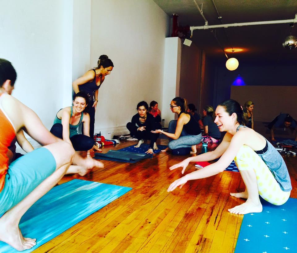 Strala Yoga Class