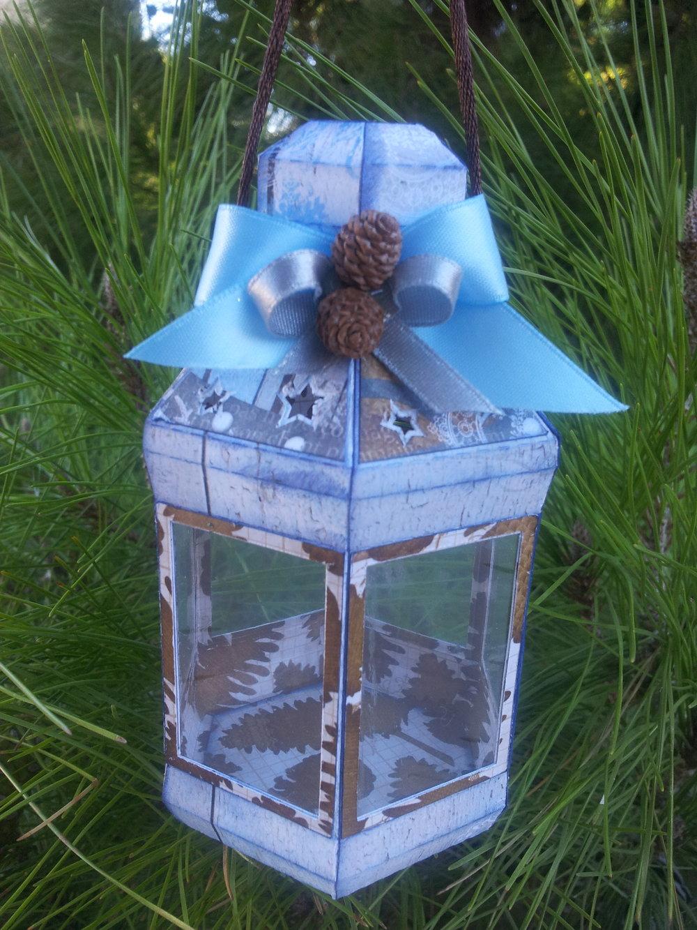 4. Small Lantern Ornament