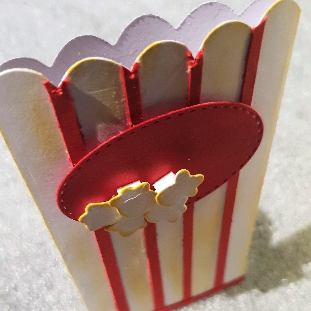 Συσκευασία κάρτας δώρου - για ταινιοφάγους