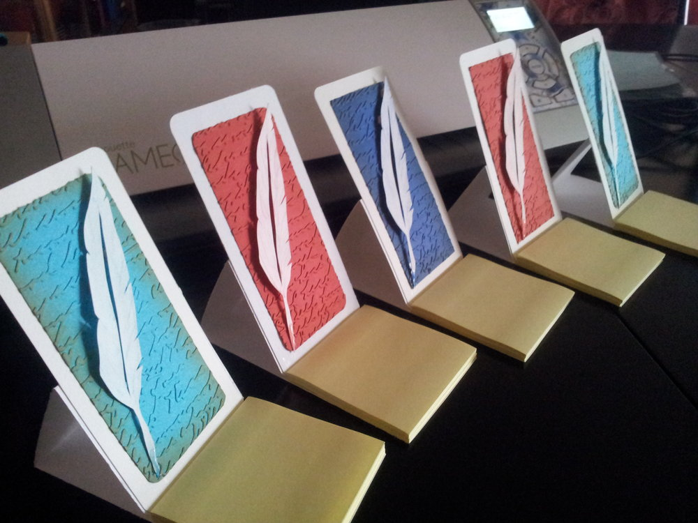 Harry Potter themed party favor (post-it easel)