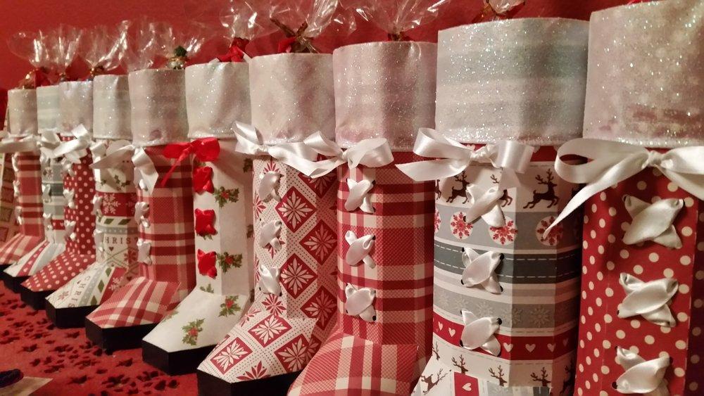 Santa's boot favors