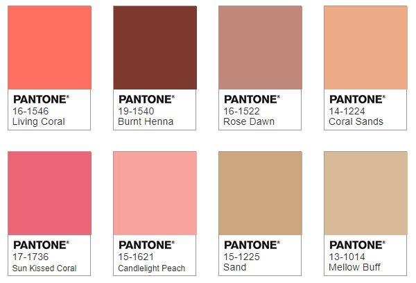 Pantone SYMPATICO color combination