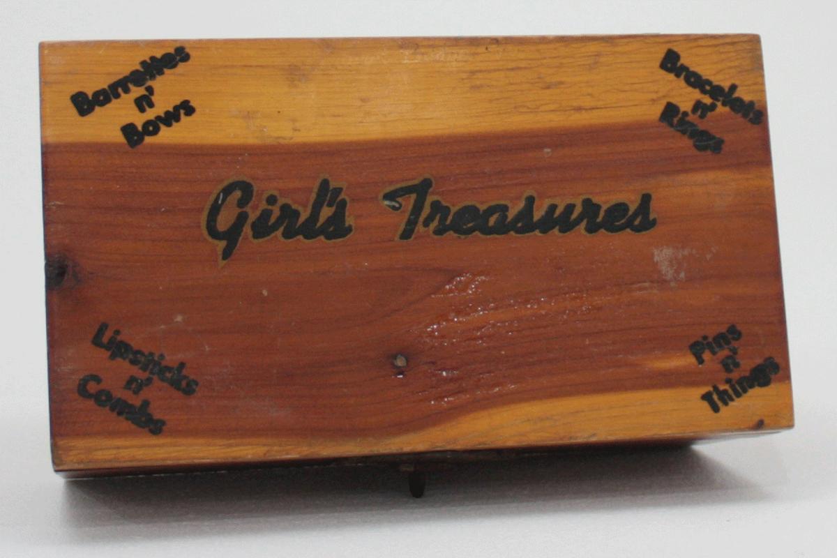 Vintage Cedar Chest Miniature Souvenir For Girlu0027s Treasures Makeup And  Vanity Storage U2014 High Country Vintage