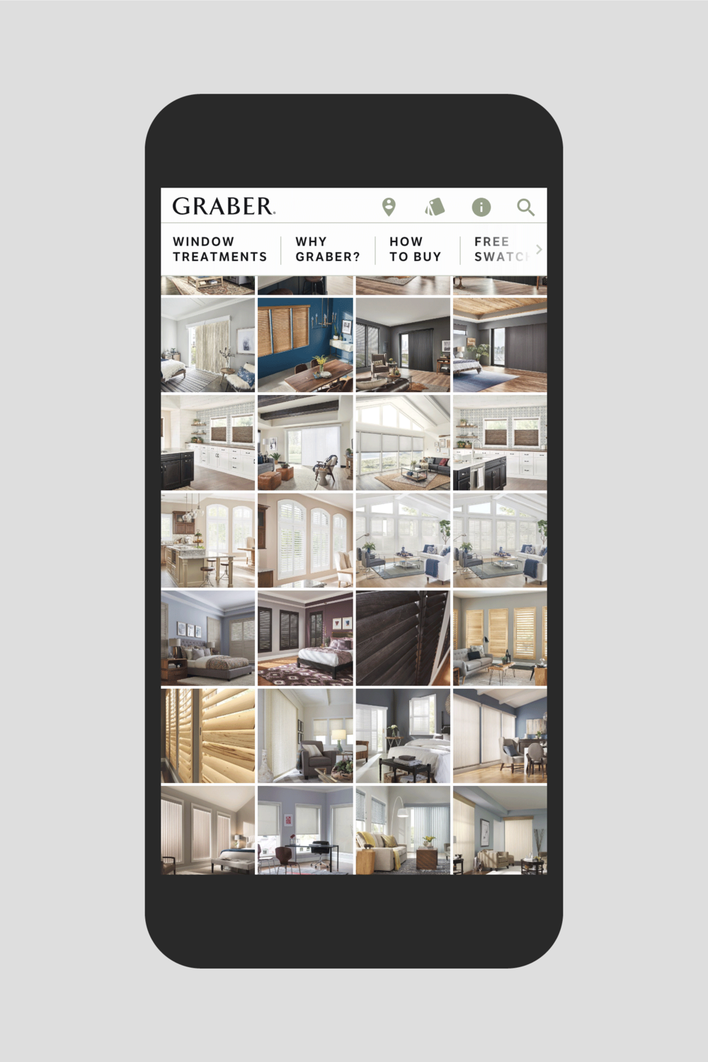 Graberblinds.com photo gallery